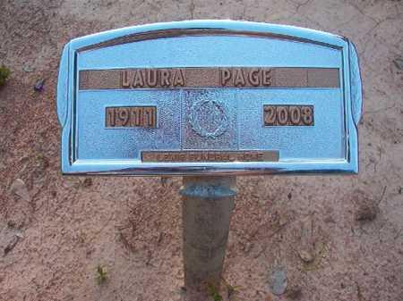 PAGE, LAURA - Columbia County, Arkansas | LAURA PAGE - Arkansas Gravestone Photos