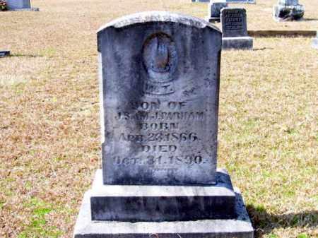 PARHAM, WILLIAM THOMAS - Columbia County, Arkansas | WILLIAM THOMAS PARHAM - Arkansas Gravestone Photos
