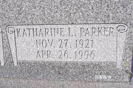 PARKER, KATHARINE L - Columbia County, Arkansas | KATHARINE L PARKER - Arkansas Gravestone Photos