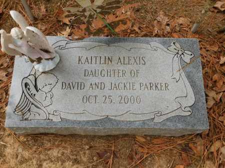 PARKER, KAITLIN ALEXIS - Columbia County, Arkansas | KAITLIN ALEXIS PARKER - Arkansas Gravestone Photos