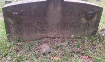 PASCHAL, HOWARD - Columbia County, Arkansas | HOWARD PASCHAL - Arkansas Gravestone Photos