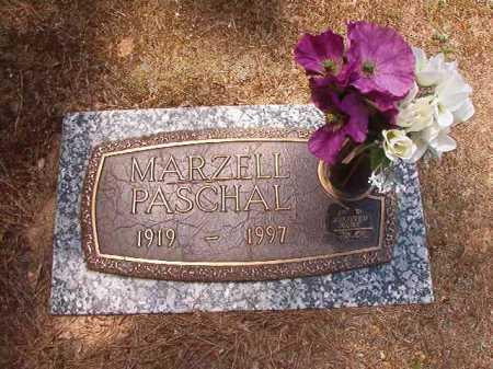 PASCHAL, MARZELL - Columbia County, Arkansas | MARZELL PASCHAL - Arkansas Gravestone Photos