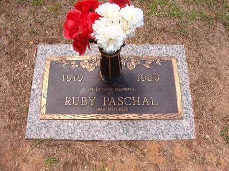 PASCHAL, RUBY - Columbia County, Arkansas | RUBY PASCHAL - Arkansas Gravestone Photos