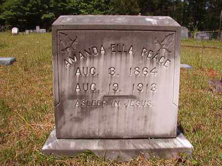PEACE, AMANDA ELLA - Columbia County, Arkansas | AMANDA ELLA PEACE - Arkansas Gravestone Photos