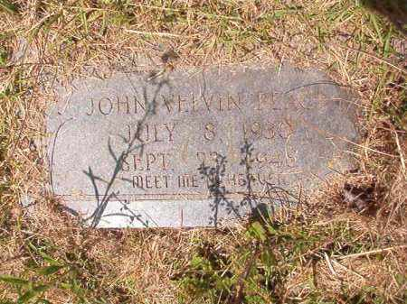 PEACE, JOHN VELVIN - Columbia County, Arkansas | JOHN VELVIN PEACE - Arkansas Gravestone Photos