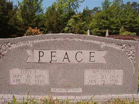 PEACE, LUCY A - Columbia County, Arkansas | LUCY A PEACE - Arkansas Gravestone Photos
