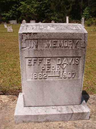 PERRY, EFFIE - Columbia County, Arkansas   EFFIE PERRY - Arkansas Gravestone Photos