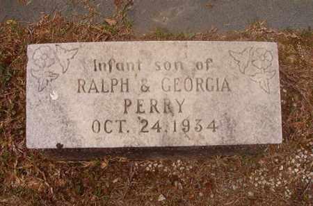 PERRY, INFANT SON - Columbia County, Arkansas | INFANT SON PERRY - Arkansas Gravestone Photos