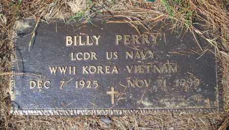 PERRY (VETERAN 3 WARS), BILLY - Columbia County, Arkansas | BILLY PERRY (VETERAN 3 WARS) - Arkansas Gravestone Photos