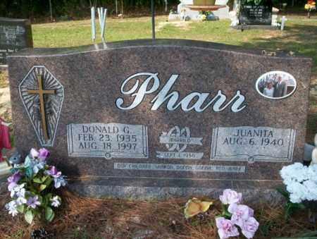 PHARR, DONALD G - Columbia County, Arkansas   DONALD G PHARR - Arkansas Gravestone Photos