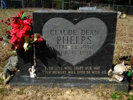 PHELPS, CLAUDE DEAN - Columbia County, Arkansas | CLAUDE DEAN PHELPS - Arkansas Gravestone Photos