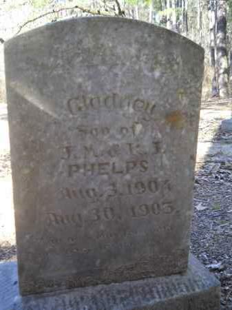 PHELPS, GLADNEY - Columbia County, Arkansas | GLADNEY PHELPS - Arkansas Gravestone Photos