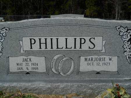 PHILLIPS, JACK - Columbia County, Arkansas   JACK PHILLIPS - Arkansas Gravestone Photos
