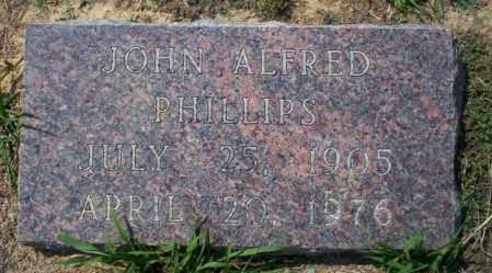 PHILLIPS, JOHN ALFRED - Columbia County, Arkansas | JOHN ALFRED PHILLIPS - Arkansas Gravestone Photos
