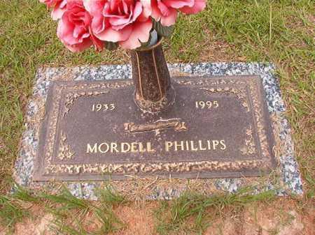 PHILLIPS, MORDELL - Columbia County, Arkansas | MORDELL PHILLIPS - Arkansas Gravestone Photos