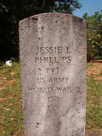 PHILLIPS (VETERAN WWII), JESSIE L - Columbia County, Arkansas | JESSIE L PHILLIPS (VETERAN WWII) - Arkansas Gravestone Photos