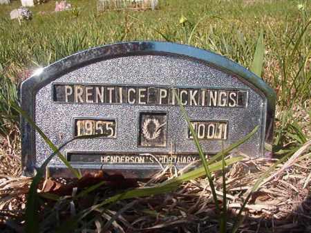 PICKINGS, PRENTICE - Columbia County, Arkansas | PRENTICE PICKINGS - Arkansas Gravestone Photos