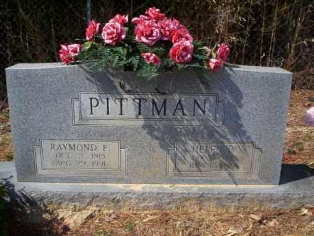 PITTMAN, RAYMOND F - Columbia County, Arkansas   RAYMOND F PITTMAN - Arkansas Gravestone Photos