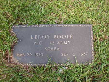 POOLE, LEROY - Columbia County, Arkansas | LEROY POOLE - Arkansas Gravestone Photos