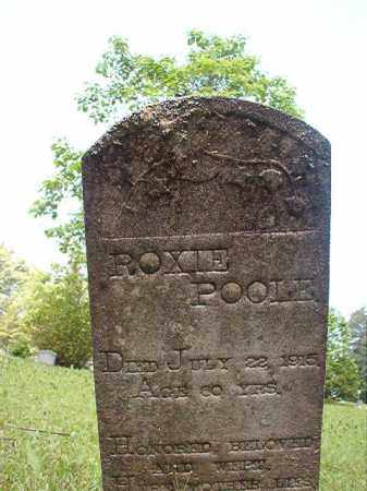 POOLE, ROXIE - Columbia County, Arkansas   ROXIE POOLE - Arkansas Gravestone Photos