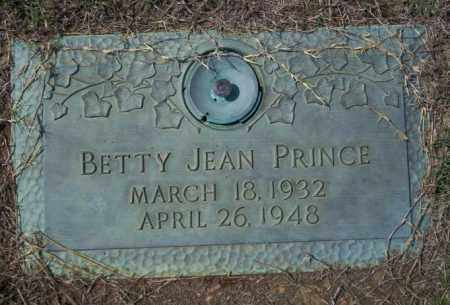 PRINCE, BETTY JEAN - Columbia County, Arkansas | BETTY JEAN PRINCE - Arkansas Gravestone Photos