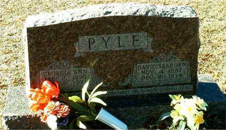 PYLE, DAVID SEABORN - Columbia County, Arkansas | DAVID SEABORN PYLE - Arkansas Gravestone Photos