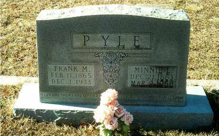 LAWRENCE PYLE, MINNIE LEE - Columbia County, Arkansas | MINNIE LEE LAWRENCE PYLE - Arkansas Gravestone Photos
