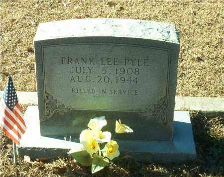 PYLE (VETERAN), FRANK LEE - Columbia County, Arkansas | FRANK LEE PYLE (VETERAN) - Arkansas Gravestone Photos