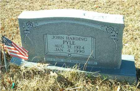 PYLE, JOHN HARDING - Columbia County, Arkansas | JOHN HARDING PYLE - Arkansas Gravestone Photos