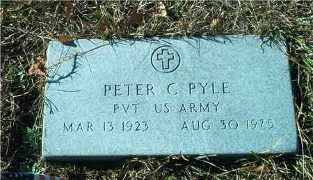 PYLE (VETERAN), PETER C - Columbia County, Arkansas | PETER C PYLE (VETERAN) - Arkansas Gravestone Photos