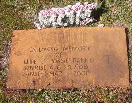 "RANKIN, WILLIE B ""TOSSIE"" - Columbia County, Arkansas 