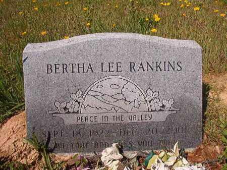 RANKINS, BERTHA LEE - Columbia County, Arkansas | BERTHA LEE RANKINS - Arkansas Gravestone Photos