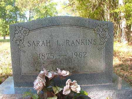RANKINS, SARAH L - Columbia County, Arkansas | SARAH L RANKINS - Arkansas Gravestone Photos