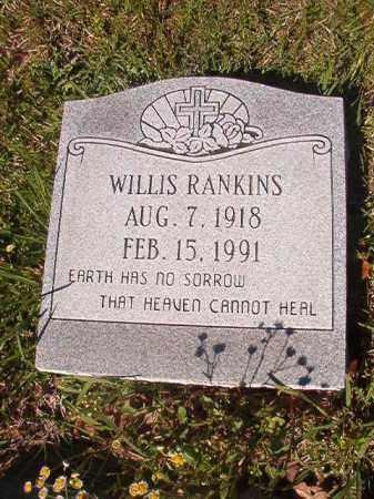 RANKINS, WILLIS - Columbia County, Arkansas   WILLIS RANKINS - Arkansas Gravestone Photos