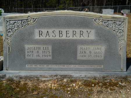 RASBERRY, JOSEPH LEE - Columbia County, Arkansas | JOSEPH LEE RASBERRY - Arkansas Gravestone Photos