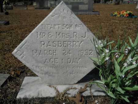 RASBERRY, INFANT - Columbia County, Arkansas   INFANT RASBERRY - Arkansas Gravestone Photos