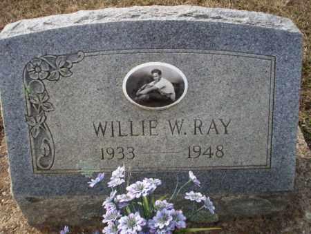 RAY, WILLIE W - Columbia County, Arkansas   WILLIE W RAY - Arkansas Gravestone Photos
