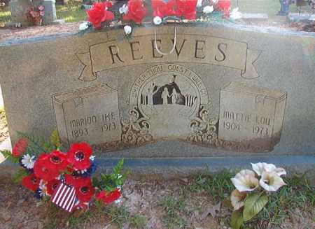 REEVES, MATTIE LOU - Columbia County, Arkansas | MATTIE LOU REEVES - Arkansas Gravestone Photos