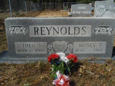 REYNOLDS, HOSEY T - Columbia County, Arkansas | HOSEY T REYNOLDS - Arkansas Gravestone Photos