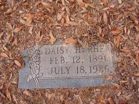 RHEA, DAISY H - Columbia County, Arkansas | DAISY H RHEA - Arkansas Gravestone Photos