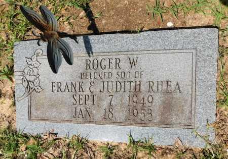 RHEA, ROGER W - Columbia County, Arkansas | ROGER W RHEA - Arkansas Gravestone Photos