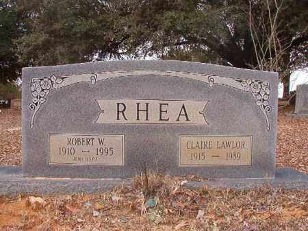 RHEA, CLAIRE - Columbia County, Arkansas | CLAIRE RHEA - Arkansas Gravestone Photos