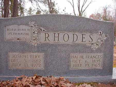 RHODES, HATTIE FRANCES - Columbia County, Arkansas | HATTIE FRANCES RHODES - Arkansas Gravestone Photos