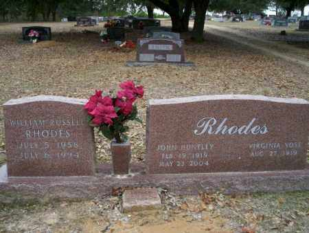 RHODES, WILLIAM RUSSELL - Columbia County, Arkansas | WILLIAM RUSSELL RHODES - Arkansas Gravestone Photos