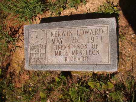 RICHARD, KERWIN EDWARD - Columbia County, Arkansas | KERWIN EDWARD RICHARD - Arkansas Gravestone Photos