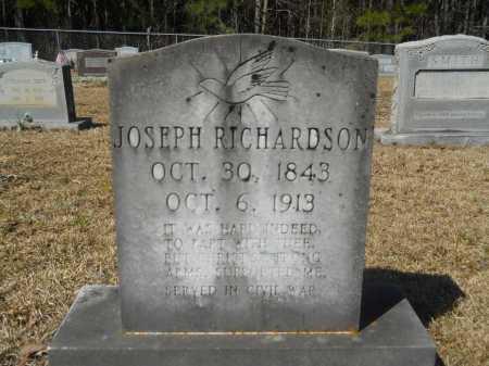 RICHARDSON, JOSEPH - Columbia County, Arkansas | JOSEPH RICHARDSON - Arkansas Gravestone Photos