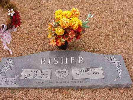 RISHER, RAY H - Columbia County, Arkansas | RAY H RISHER - Arkansas Gravestone Photos