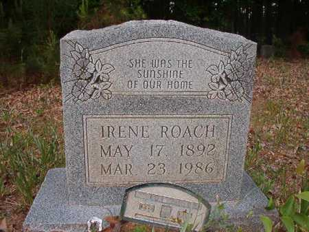 ROACH, IRENE - Columbia County, Arkansas | IRENE ROACH - Arkansas Gravestone Photos