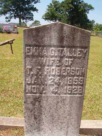ROBERSON, EMMA G - Columbia County, Arkansas | EMMA G ROBERSON - Arkansas Gravestone Photos