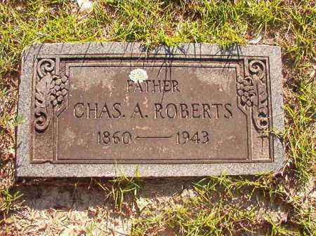 ROBERTS, CHARLES A - Columbia County, Arkansas | CHARLES A ROBERTS - Arkansas Gravestone Photos